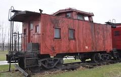 Coldwater, Michigan ( 5 of 10) (Bob McGilvray Jr.) Tags: coldwater mi michigan caboose wood wooden red cupola railroad train tracks bo baltimoreohio littleriverrailroad
