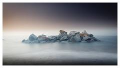The Rockies (picturedevon.co.uk) Tags: hollicombe beach paignton torquay torbay englishriviera devon england uk seascape le longexposure sand sea waves water rocks colour blue minimal morning spring coast seaside canon nisi ndfilter wwwpicturedevoncouk photography