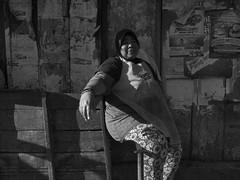 The Break of the Butcher (Aimery Joëssel) Tags: bali blackandwhite 2017 streetphotography badung denpasar indonesia portrait