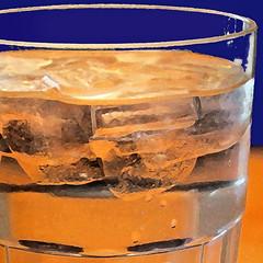 Thirsty (tmattioni) Tags: blue orange macromonday glass drink 52in2017challenge liquid