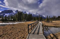 Boardwalk (Len Langevin) Tags: canmore alberta canada rockies rocky mountains wetlands nikon d300s tokina 1116