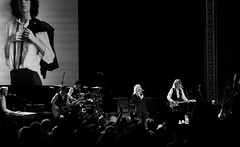 63+465: Patti Smith in concert, Sydney, 09/04/17 (geemuses) Tags: pattismith punk rockmusic music rockandroll rocknroll horses album lp performance entertainment show gig statetheatre sydney nsw australia lennykaye tonyshanahan audience