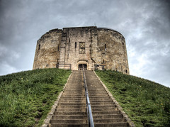 Clifford's Tower York (neilalderney123) Tags: ©2017neilhoward york olympus tower castle cliffords architecture stariway history norman