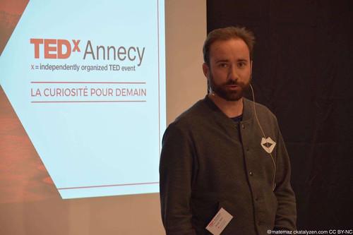 Olivier GIRY - L'homme est un produit comme un autre - TEDxAnnecy-2017 - Photo Mattéo Mazzeri