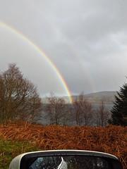 8653 Rainbow on Loch Garry (Andy - Busyyyyyyyyy) Tags: 20170319 ccc clouds ggg glengarry misty mmm murky rainbow rrr scotland