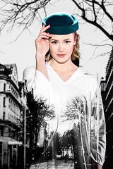 H'attitude 2 (Robert Fritz) Tags: fashion editorial austria model sarah hattitude lichy 5ds 70200lisii hats woman