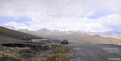 On top of the world (mala singh) Tags: road highway mountains himalayas manalilehhighway ladakh india