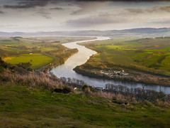 The Tay from Kinnoull Hill (Rabster Rewired) Tags: gx1 panasonic lightroom scotland tay river kinnoullhill winding perth