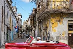 red transient (berny-s) Tags: cuba havana habana revolución classic car oldtimer transient red