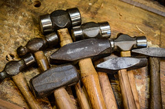 Metal working hammers (Earley Photography) Tags: hammer metal blacksmith smith forge tool sledge pien ball