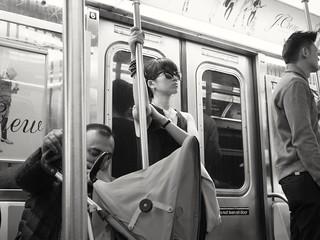 New York subway vibes