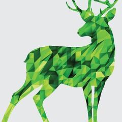 Poly Deer! #design #illustration #green #lime #deer #poly #lowpoly #polygon #diamond #animal #anthler #shape #triangle #minimal #cg (publicidademarketing) Tags: publicidade e marketing blog branding propaganda design grafico comunicação visual logomarca agencia de identidade promocional o que é tipos comercial