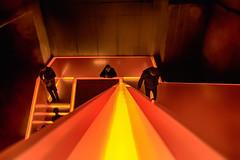 stairway to hell (andreas.klodt) Tags: ruhrmuseum zollverein kunst art red orange rot hell hölle artistic