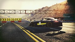 Deserted (polyneutron) Tags: car photography mercedesbenz amg gt3 number contrast sport assettocorsa pc automotive videogame photomode depthoffield hdr bloom