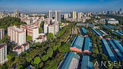 Marsiling lanes (draken413o) Tags: singapore woodlands marsiling architecture neighbourhoods urban places aerial dji drone phantom 4 pro panorama home asia travel destinations morning estates