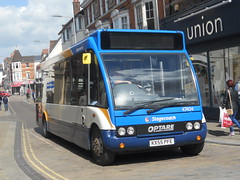Stagecoach 47404 KX55 PFE (Alex S. Transport Photography) Tags: bus vehicle outdoor road stagecoach stagecoachmidlandred routew1 optare solo optaresolo 47404 kx55pfe