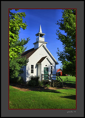 Historic Church Heritage Village (the Gallopping Geezer '4.5' million + views....) Tags: building structure old historic heritagevillage mi michigan smalltown rural country countryside backroads backroad museum park display village sidney canon geezer 2016 church worship faith religious religion