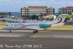 DSC_9853Pwm (T.O. Images) Tags: pztfa fly all ways fokker 70 sxm st maarten princess juliana airport insel air