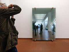 Gerhard Richter, 11 Scheiben (Werner Schnell Images (2.stream)) Tags: ws museum ludwig köln cologne gerhard richter 11scheiben installation 2003spiegelung reflection glasscheiben