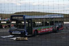 FD51 EYU (markkirk85) Tags: buxton raceway bus buses demolition derby optare excel ex go goodwin new nottingham 12002 552 fd51 eyu fd51eyu