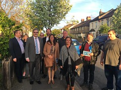 Campaigning in Enfield North