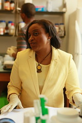 Assistant Professor of Biology Shantá D. Hinton (William & Mary Photos) Tags: williamsburg va usa william mary college research faculty student minority lab wm