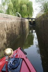 Nosing in (dlanor smada) Tags: grandunion aylesbury bucks chilterns locks canals