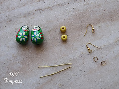 How to make boho earrings- 2 styles 11 (DIY Empress) Tags: diy earrings earringfashion boho bohemian bohoearrings fashion beautiful tutorial howto blogger inspiration make diyblogger girl girlboss happy parrot doll pompom smile colorful spark