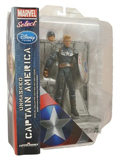 Marvel Select – 美國隊長匿蹤制服版 Stealth Suit  ver. 偷偷到來