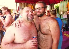 Payaso 295 (danimaniacs) Tags: shirtless hairy man smile hair beard payaso