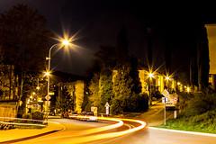 Auf den Straen Tschechiens (NinchenBln) Tags: abend nacht tschechien dunkel kreuzung nachts abends nachod strase 365m langzeitbelichtigung canon1100d