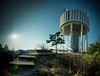 The local water tower 4 (Anton Rengaw) Tags: panorama nature photoshop photography sweden sony hdr lightroom nex nynashamn photomatix sodertalje 5n