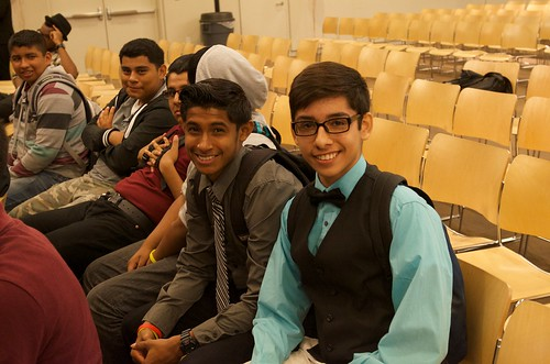 """I want to do something for myself. I want a better life, I want to help the people around me. I want to live the American Dream"" -- 14-year-old Brian Sanchez (pictured here on right), Fremont High student • <a style=""font-size:0.8em;"" href=""http://www.flickr.com/photos/31789702@N05/13960696438/"" target=""_blank"">View on Flickr</a>"