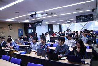 경청중인 참가자들
