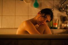 _MG_6636 (shaffleboy) Tags: portrait hot girl 35mm canon dark nude bathroom bath warm mark f14 ii 5d samyang