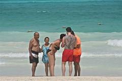 Dragon Tattoo (smilla4) Tags: beach mexico surf waves cancun caribbean dragontattoo