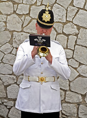 Guard Mount 012 - Guest (tony.evans) Tags: music drums sticks military pipes band trumpet marching gibraltar cymbals saxophone clarinet guardmount regiment corpsofdrums royalgibraltarregiment thebandoftheroyalgibraltarregiment marchingbandguardmount