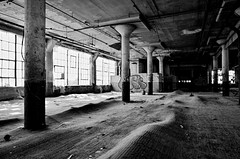 Ripples (gregador) Tags: ohio urban abandoned industry floor exploring cleveland warped rippled decayed hardwood urbex heaving buckled