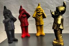 German meeting - Garden gnomes (Happy! - Andrea) Tags: happy deutschland andrea olympus german aachen typical zuiko ottmar omd deutsch gartenzwerg em1 typisch hörl andreakd