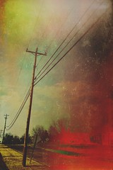 sing to me with words of fire (tamelyn) Tags: sky wires iphoneography
