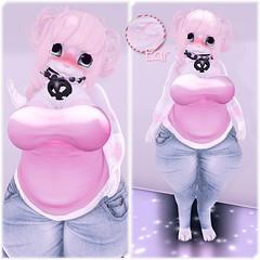 Mad Echo - Chubby Bunny [Nohemi Chubby/Viss Mod] (Inuoko Shikami - {Amai}   Devour Souls) Tags: cute fashion furry secondlife kawaii madecho inuoko iheartslfeed kawaiifashionblog