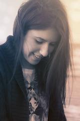 sunset smile. (Matthias Dengler || www.snapshopped.com) Tags: sunset sea woman sun sunlight white black hot color cute sexy love beach water girl monochrome beautiful smile sunshine fashion shirt contrast sunrise vintage hair happy photography daylight photo amazing eyes alone photographer skin you smooth style poland baltic lips photograph matthias hate stunning gradient sunburst miss turkish sunray colorkey trojmiasto dengler tricity snapshopped