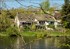 Riverside walk (catb -) Tags: house france buildings river dordogne fa argentat