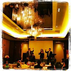 #chengdu #china knows wine tastings: Italian opera triplet... at an Italian wine tasting.