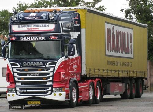 Scania R500 V8 - Håkull Transport & Logistics - Nielsen Bjarne Transport  Hjørring - BN Transport - TT Transport - XS 94 712 - a photo on Flickriver