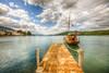 Guvercinlik, Bodrum (Nejdet Duzen) Tags: trip travel sea holiday turkey coast boat cloudy yacht jetty türkiye deniz iskele bodrum yat sahil tatil turkei muğla bulutlu güvercinlik seyhat