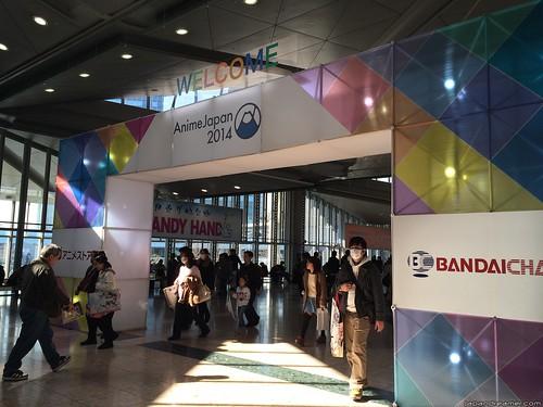 這是 2014年3月22-23日在東京 Big Sight 舉行的年度動畫活動盛事 -AnimeJapan 的活動遊記。