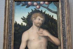 Cranach The Elder Adam And Eve Adam Lucas Cranach The Elder