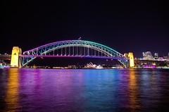 FROM THE LIGHT SHOW TO MCMAHONS POINT (16th man) Tags: canon eos sydney vivid australia nsw lunapark operahouse harbourbridge mcmahonspoint eos5dmkiii
