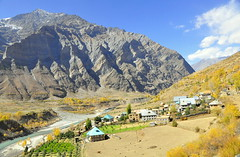 _DSC1423 (mala singh) Tags: autumn india mountains village valley himachal himalayas lahaul